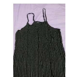 🚚 【黑人嚴選】CACO美式休閒服飾。條紋連身裙。長上衣