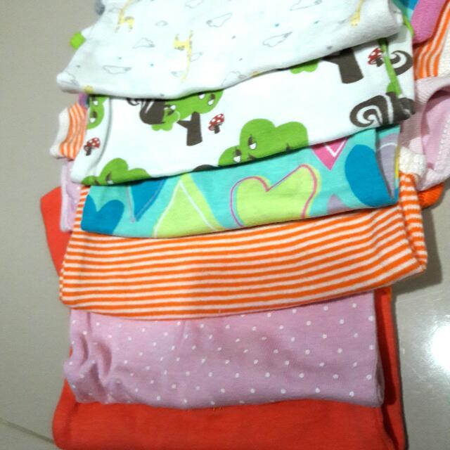 6pc Baju Newborn