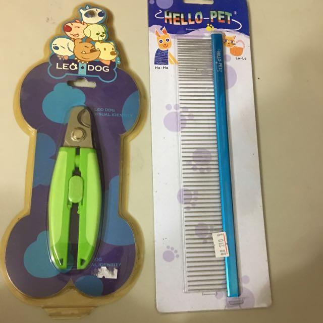 寵物用指甲剪、排梳