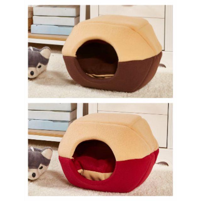 【現貨】寵物 狗 兩用窩 窩 狗窩 寵物窩 睡墊 睡床 床墊 貓窩 睡窩 蒙古包【狗狗研究所】