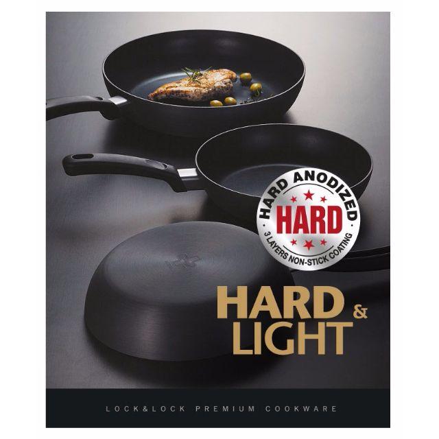 [現貨-樂扣樂扣] HARD&LIGHT系列輕鬆煮不沾平底鍋/30CM (IH底) LOCK&LOCK