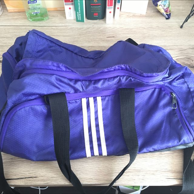 Adidas Gym Bag - Purple