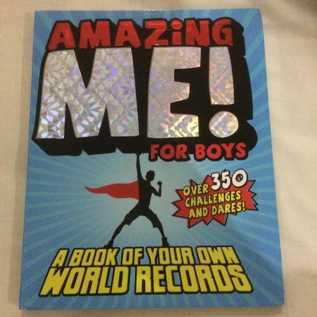 Amazing Me! Book