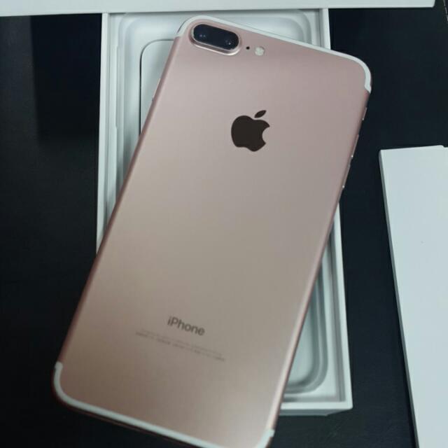Apple I7 Plus128玫瑰