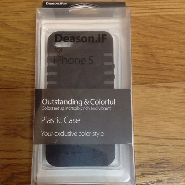 Apple IPhone5 Case /Deason iF/手機殼/背蓋