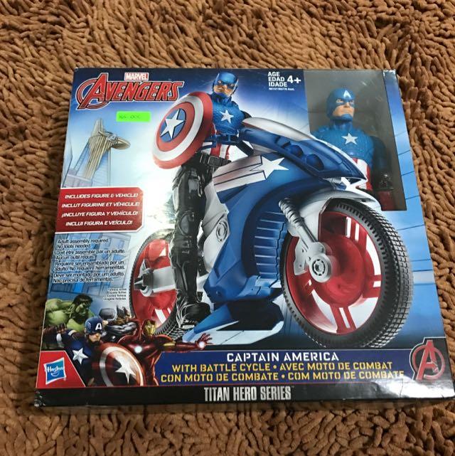 Avengers Captain America Age4+