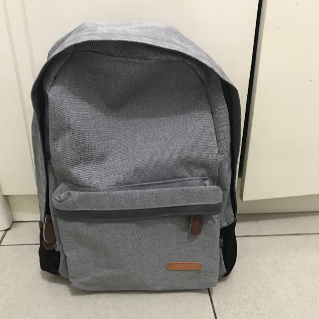 Backpack Ransel Grey