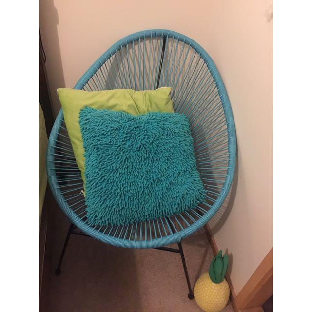 Blue Acapulco Chair