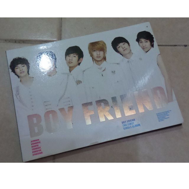 BOY FRIEND FIRST ALBUM