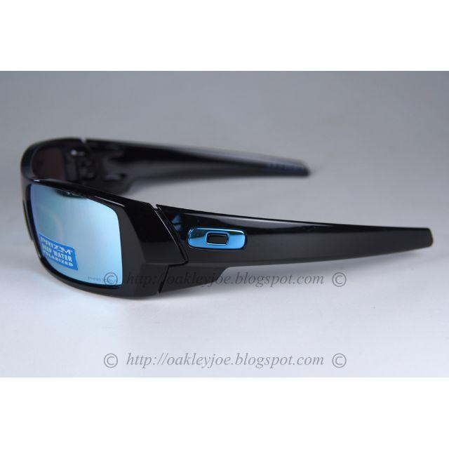 9dbbcf4612 Brand New Oakley Gascan Prizm Series polished black + prizm deep h2o water polarized  oo9014-15