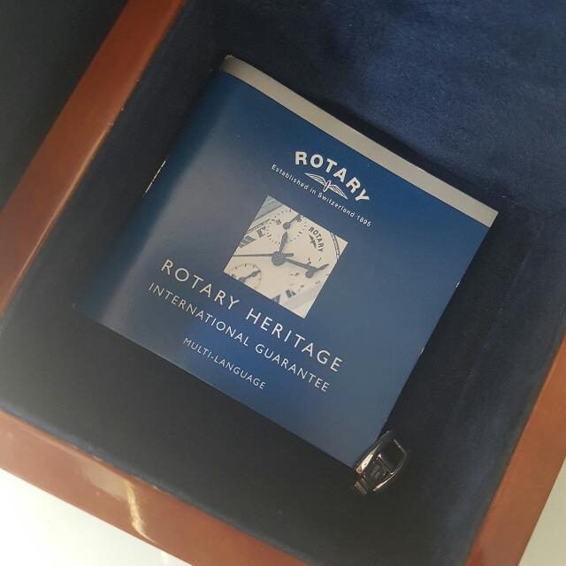 Brand New Rotary Watch - Full Box Set