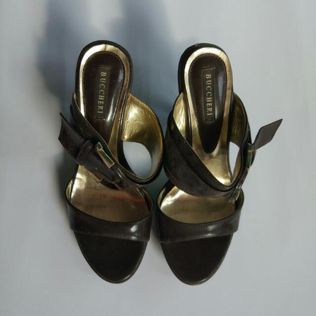 Buccheri Black Gold Shoes