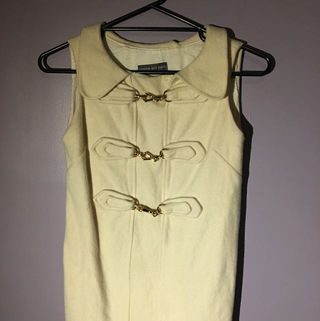 Camilla And Marc Cream Tunic Size 6