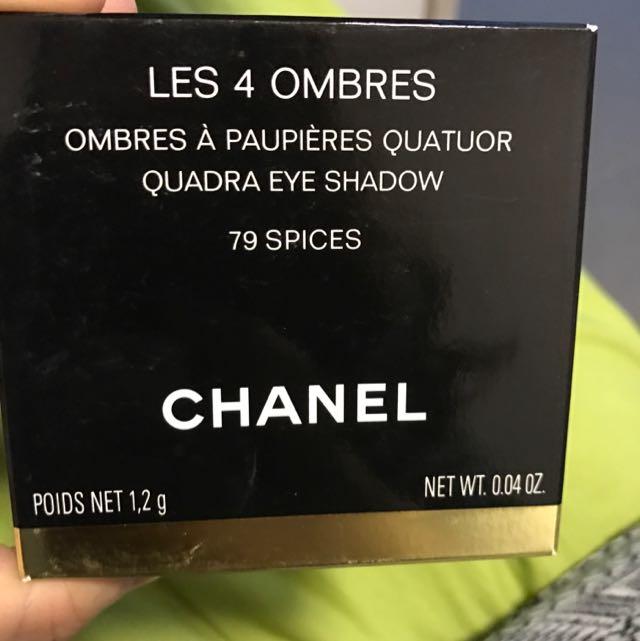 Chanel 全新4色眼影