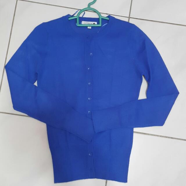 Cotton On Electric Blue Cardigan