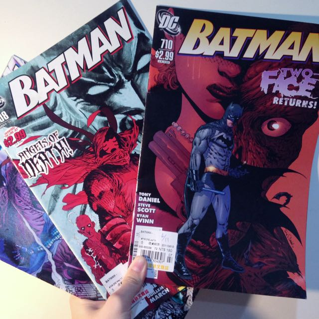 DC蝙蝠俠漫畫雜誌 #一本只要一百元