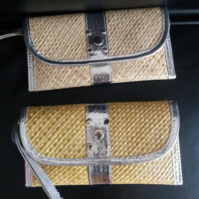 Dompet Wanita Anyaman