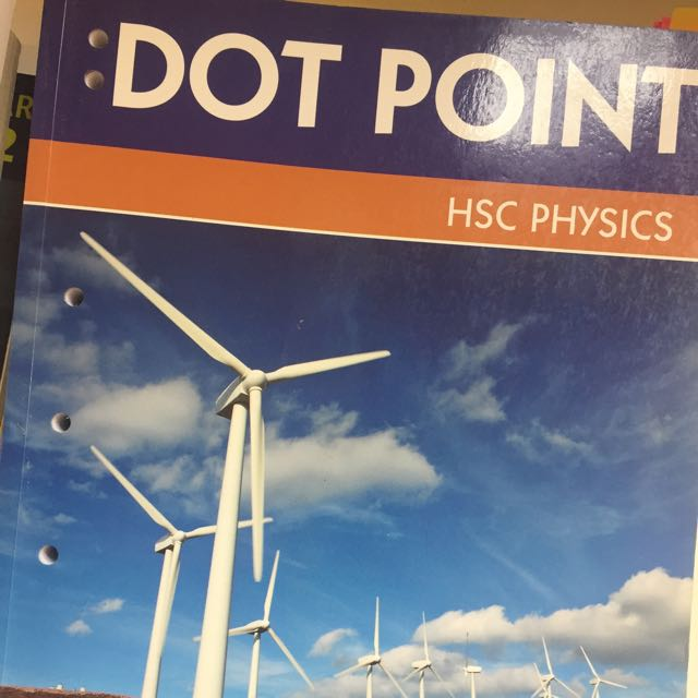 Dotpoint Physics Hsc Brand New