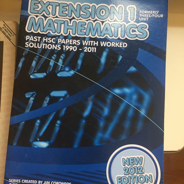 Extension 1 Maths Past Papers BRAND NEW