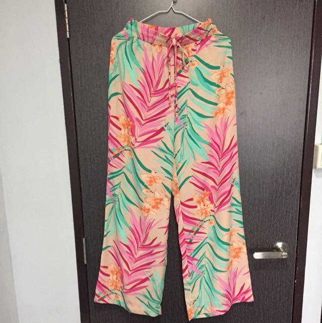 F21 Printed Pants