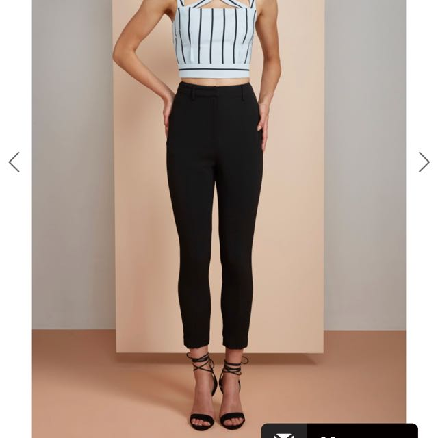 Finders Keepers The Label black pants XS