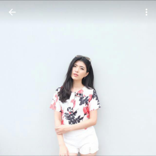 Flower Bow Top