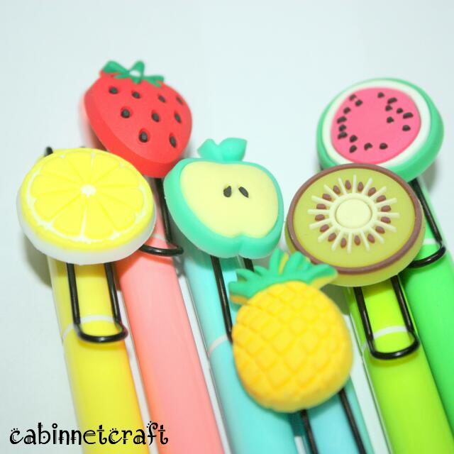Fruity Gel Pens