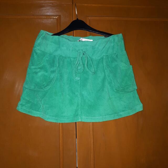 Green Tomato Skirt