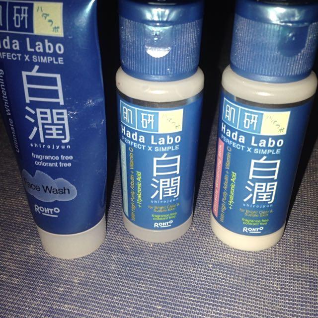 Hada Labo Shirojyun [preloved trial kit]