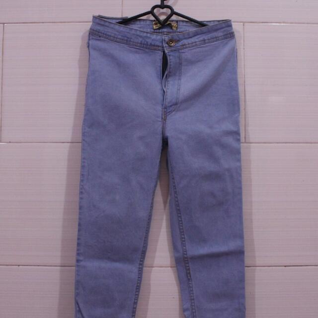 HIGHWAIST LONG PANTS