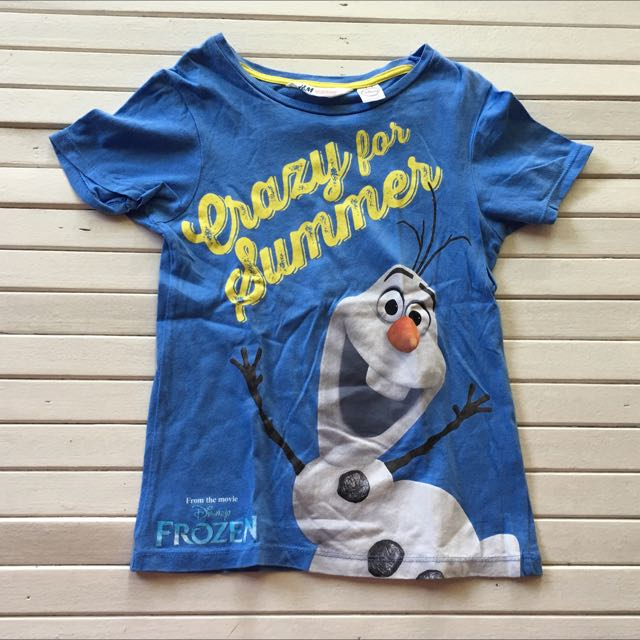H&M Frozen Shirt For Boys 4 To 6