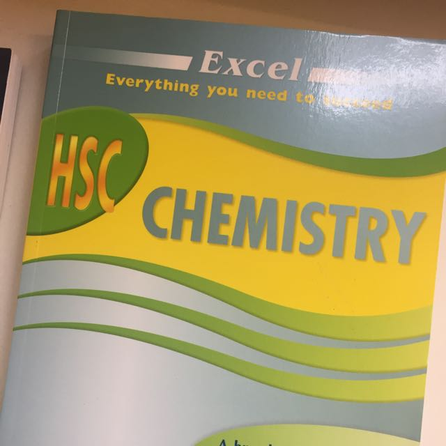 excel Hsc Chemistry Brand New