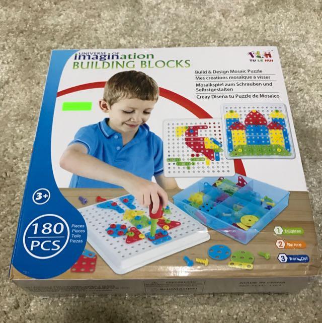 Imagination Building Blocks 180pcs