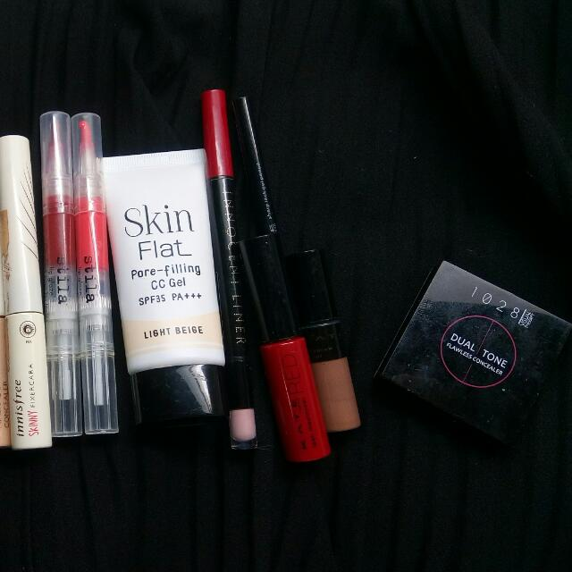 innisfree / Stila / Skin Flat / Integrate / kate / 1028 / Too Cool For School / Laura Mercier /fasio /戀愛墨鏡