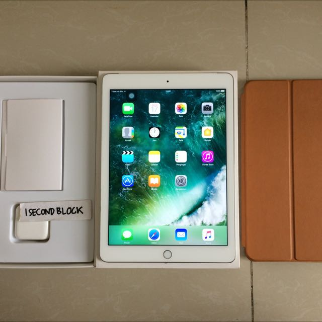 Ipad Air 2 64GB WIFI CELL Second Fullset Istimewa