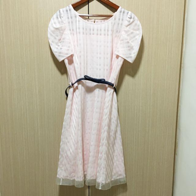 Iris 粉色洋裝