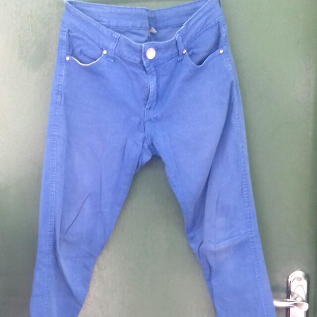 jeans biru zara women