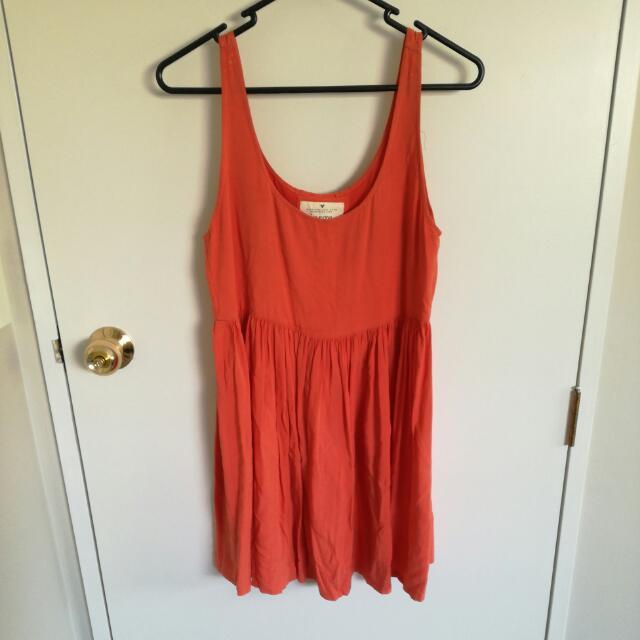 Jorge Orange Dress