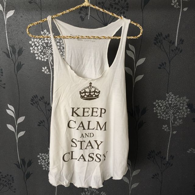 Keep Calm Tanktop