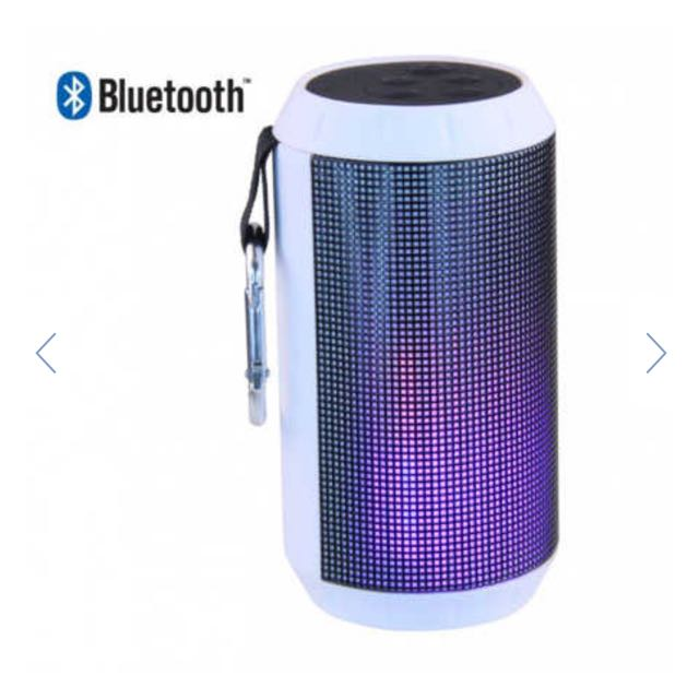 Laser Wireless Speaker with LED Lights & FM Radio