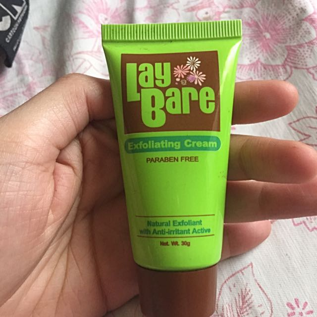 Laybare Exfoliating Cream