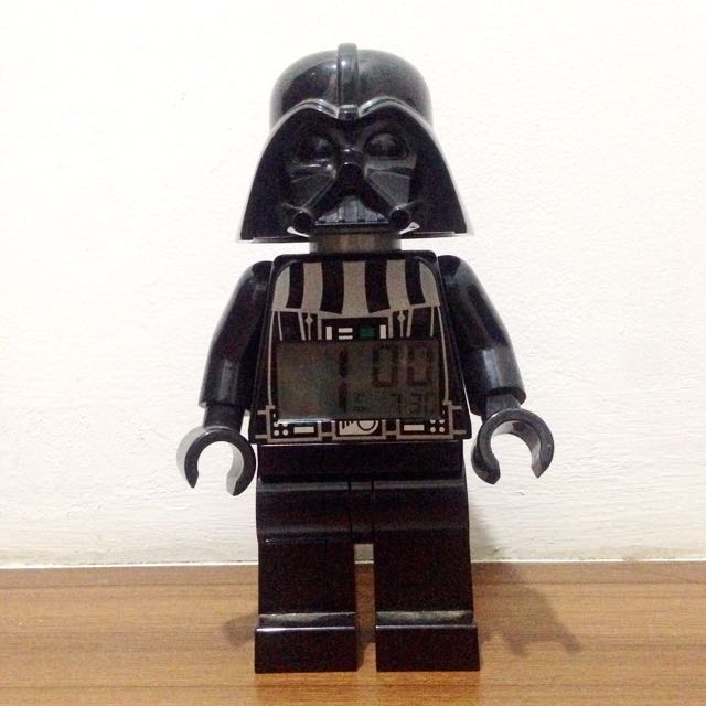 LEGO Star Wars Alarm Clock (Darth Vader)