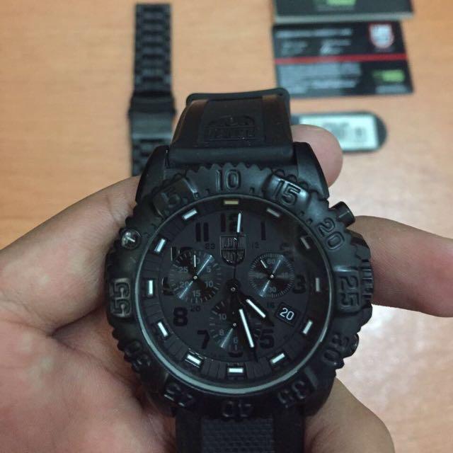 Luminox Navy Seal 3802-BO Cronograph