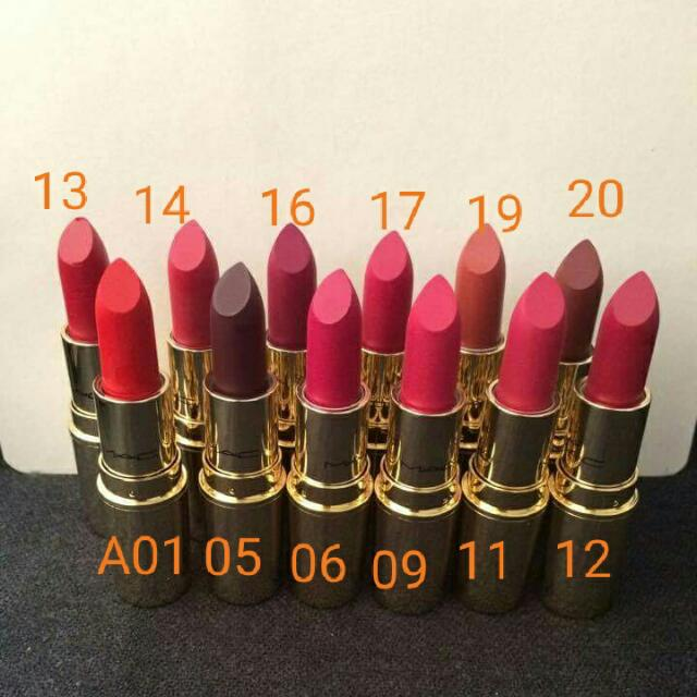 MAC LUSTRE LIPSTICK  buy 2 for 500nt$