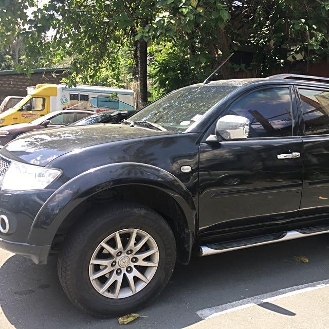 Montero Sport 4x4 2011 Model