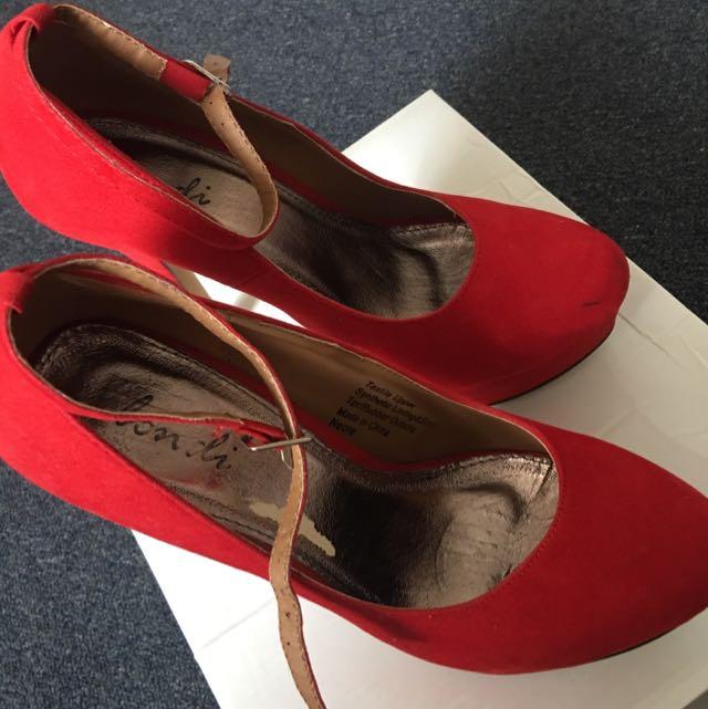 Neola Red Heels