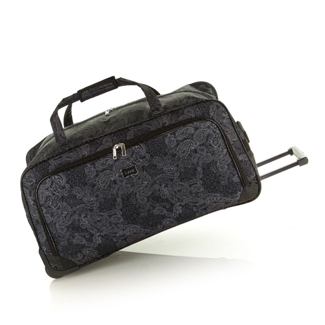 NEW Lucca So Paisley Duffle Bag - Wheeled
