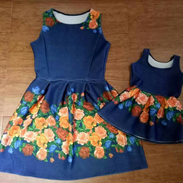 New!mom&daughter Dress❤