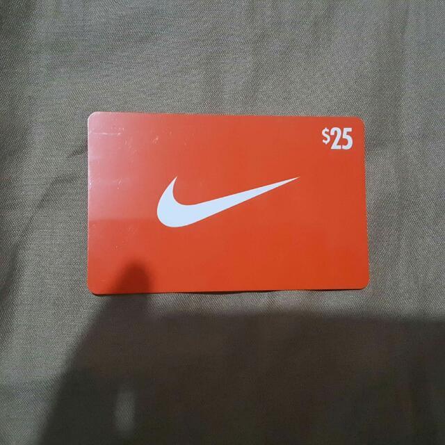 Nike Gift Card 25$