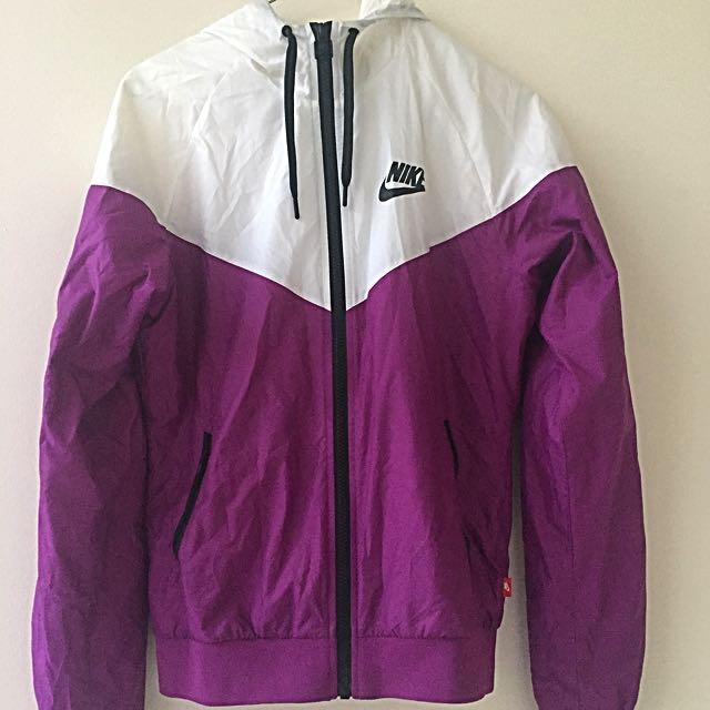 Nike Purple Windcheater AU S